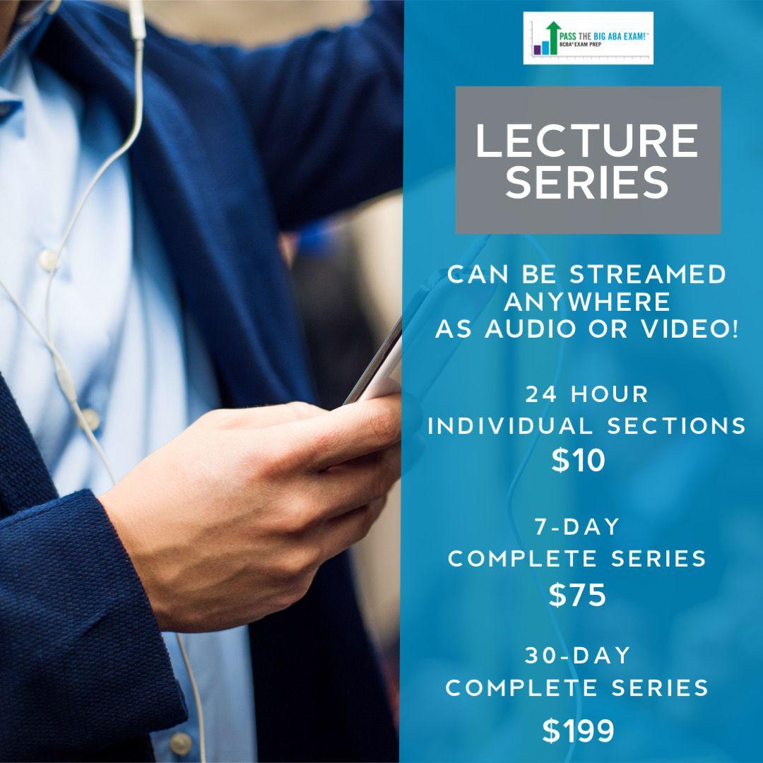 Lecture Series PASStheBIGABAEXAM in 2020 Lecture, Exam