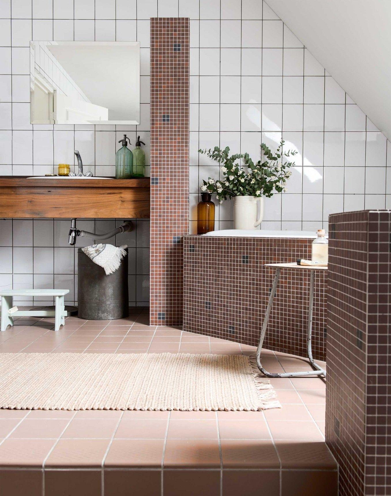 Une maison rustique chic aux Pays Bas   Déco Salle de bain   Pinterest