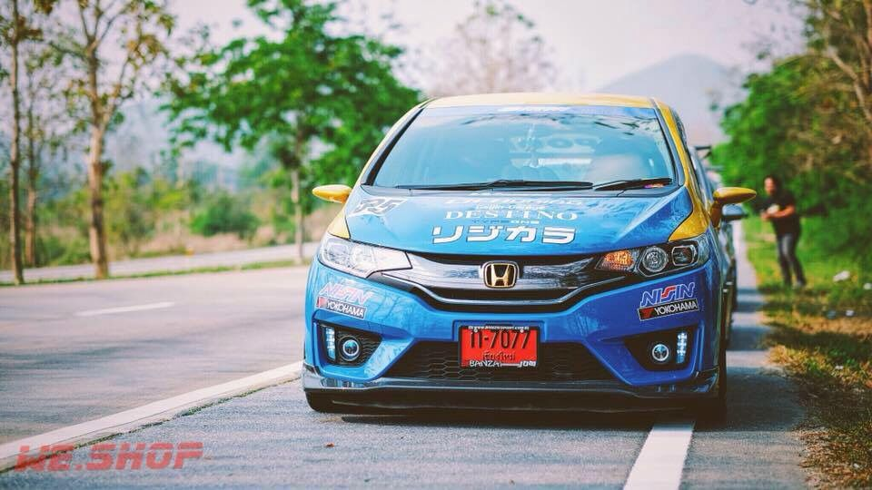 Fit Gk Alpha Garage Honda Jazz Honda Japan Cars