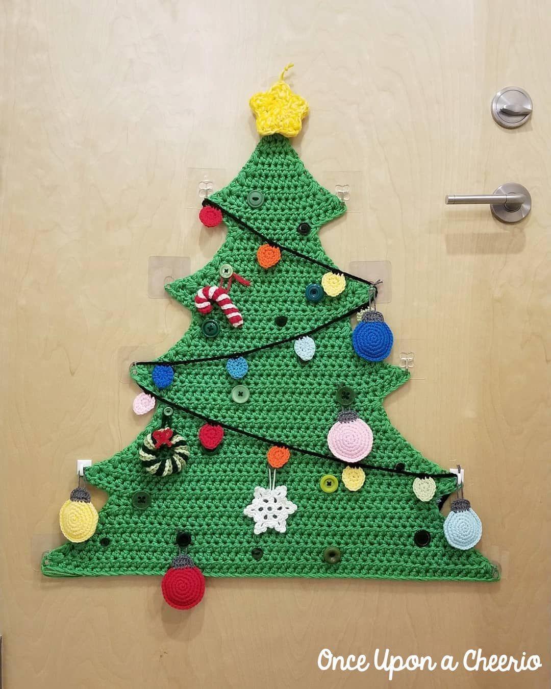 O Crochet Christmas Tree 2018 Amigurumi Christmas Lights Tree Christmas Crochet Patterns Christmas Tree Decorations Diy Ornaments Christmas Crochet