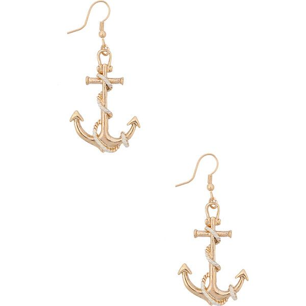 Forever 21 Sailor Earrings 2 18 Aud Liked On Polyvore Featuring Jewelry