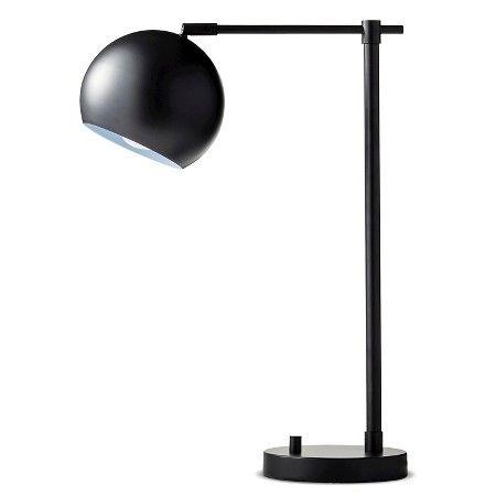 Modern globe desk lamp black threshold target