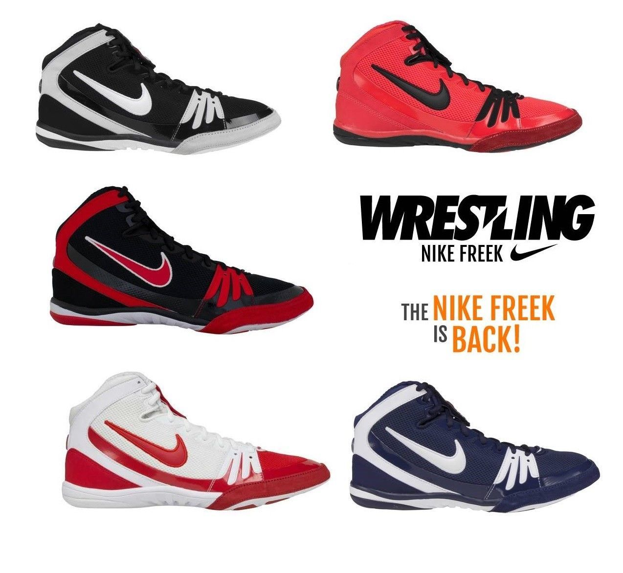 Wrestling Shoes Boots NIKE TAKEDOWN 4 Ringerschuhe Chaussures de Lutte