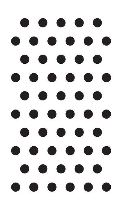 af15c8165ced Large Polka Dot Stencil | Studio Style DIY | Chevron stencil ...