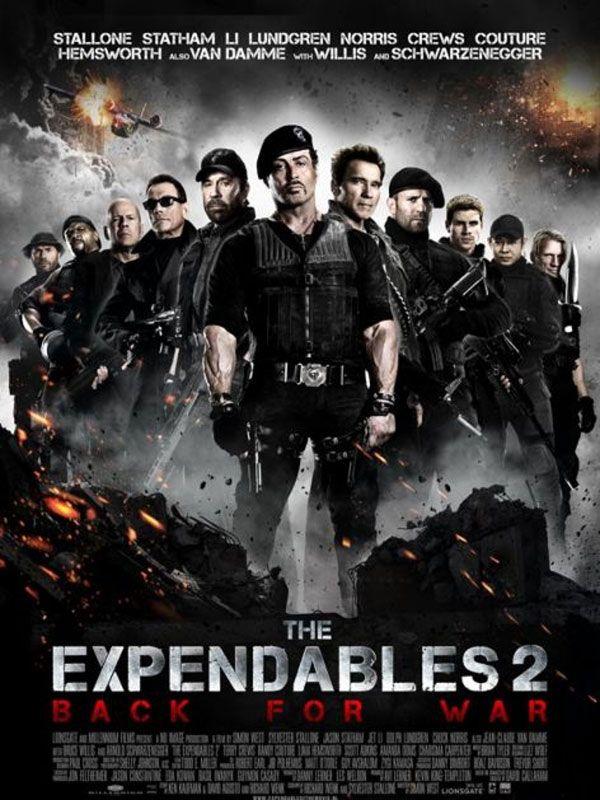 Os Mercenarios 2 The Expendables 2 31 De Agosto No Brasil Com