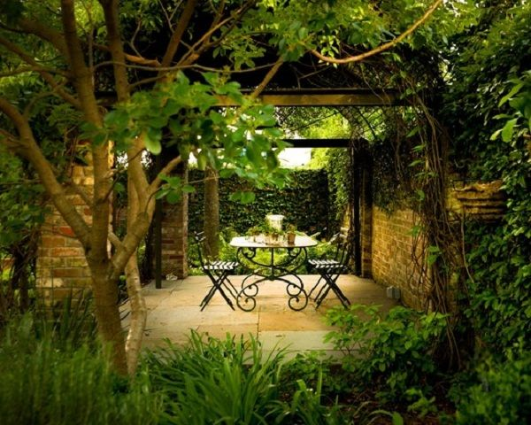 small secret garden ideas images