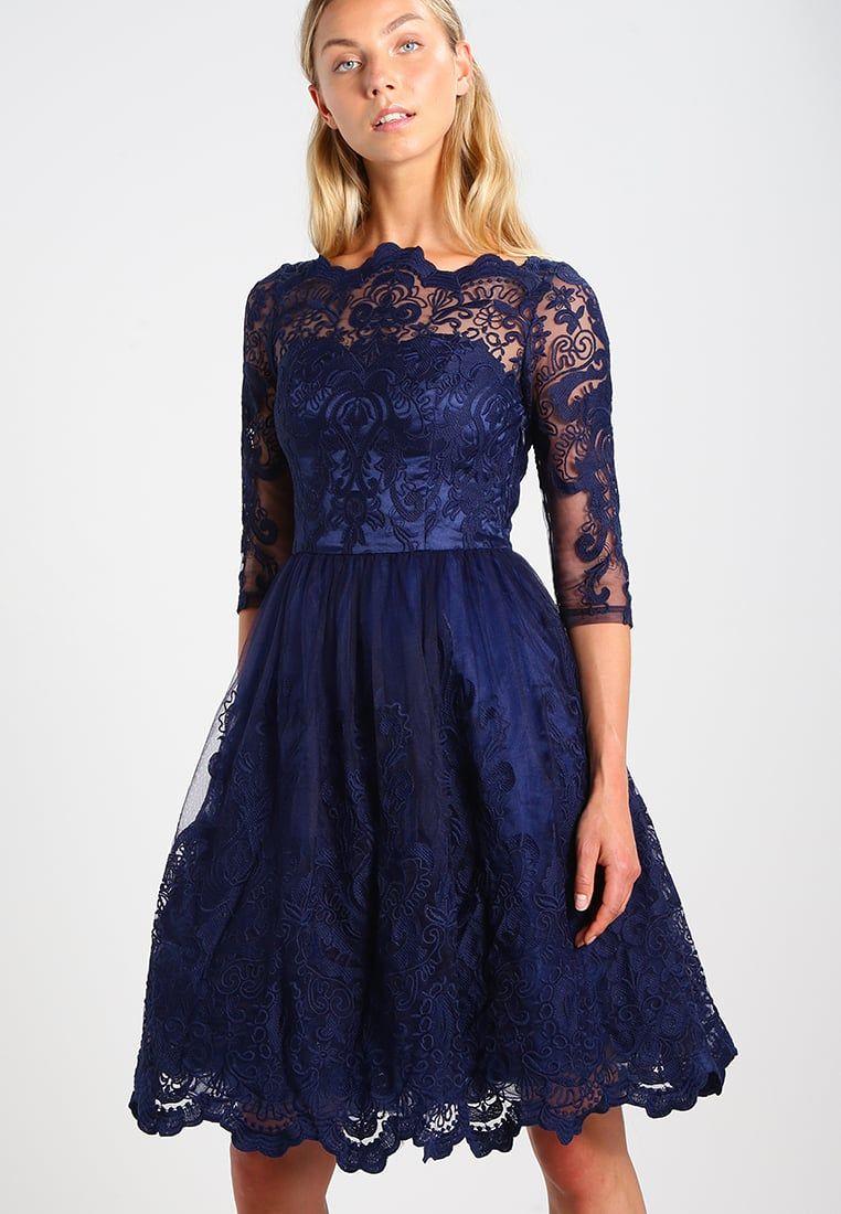 Chi Chi London ROMEE Robe de soirée blue - Robe de Soirée Zalando ... 768e6dc4335