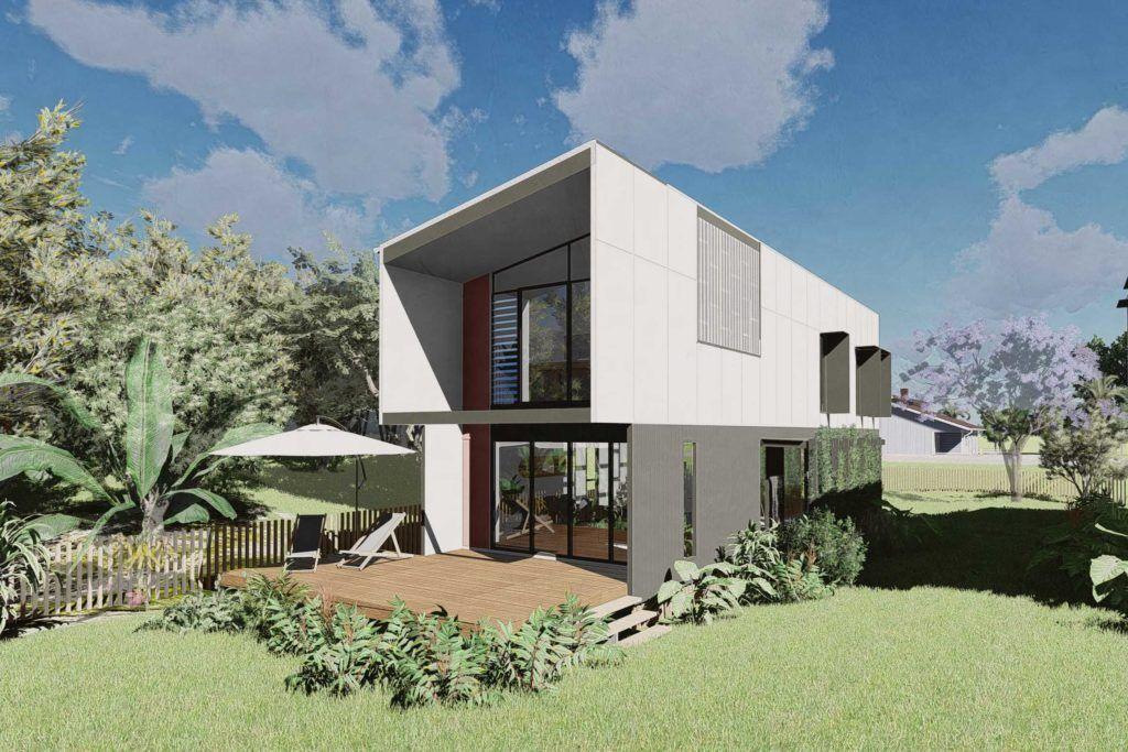 alcorn guest haus   happy haus   architect designed homes   prefab ...