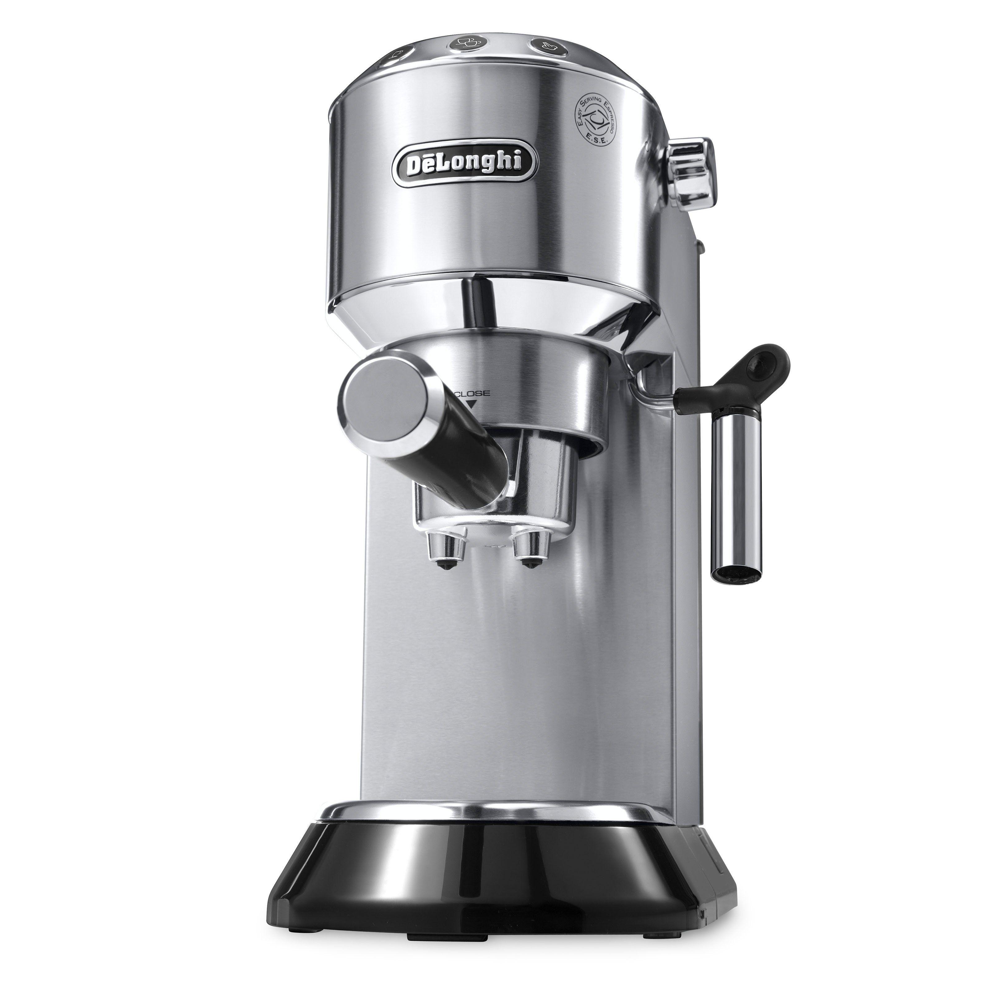 Delonghi Dedica Ec680b Espresso Maker With Images Automatic Espresso Machine Home Espresso Machine Cappuccino Machine