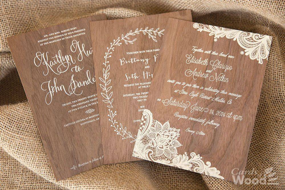 Cards Of Wood Specializes In Veneer Business Cards Post
