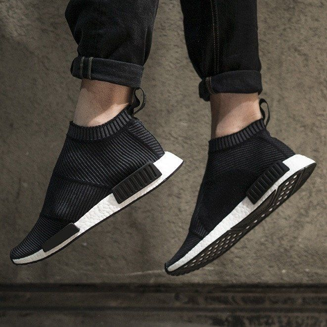 size 40 d6275 07fe9 Futuristic Sneakers in Black  Takeclothe White Sneakers, Shoes Sneakers,  Nmd City Sock,