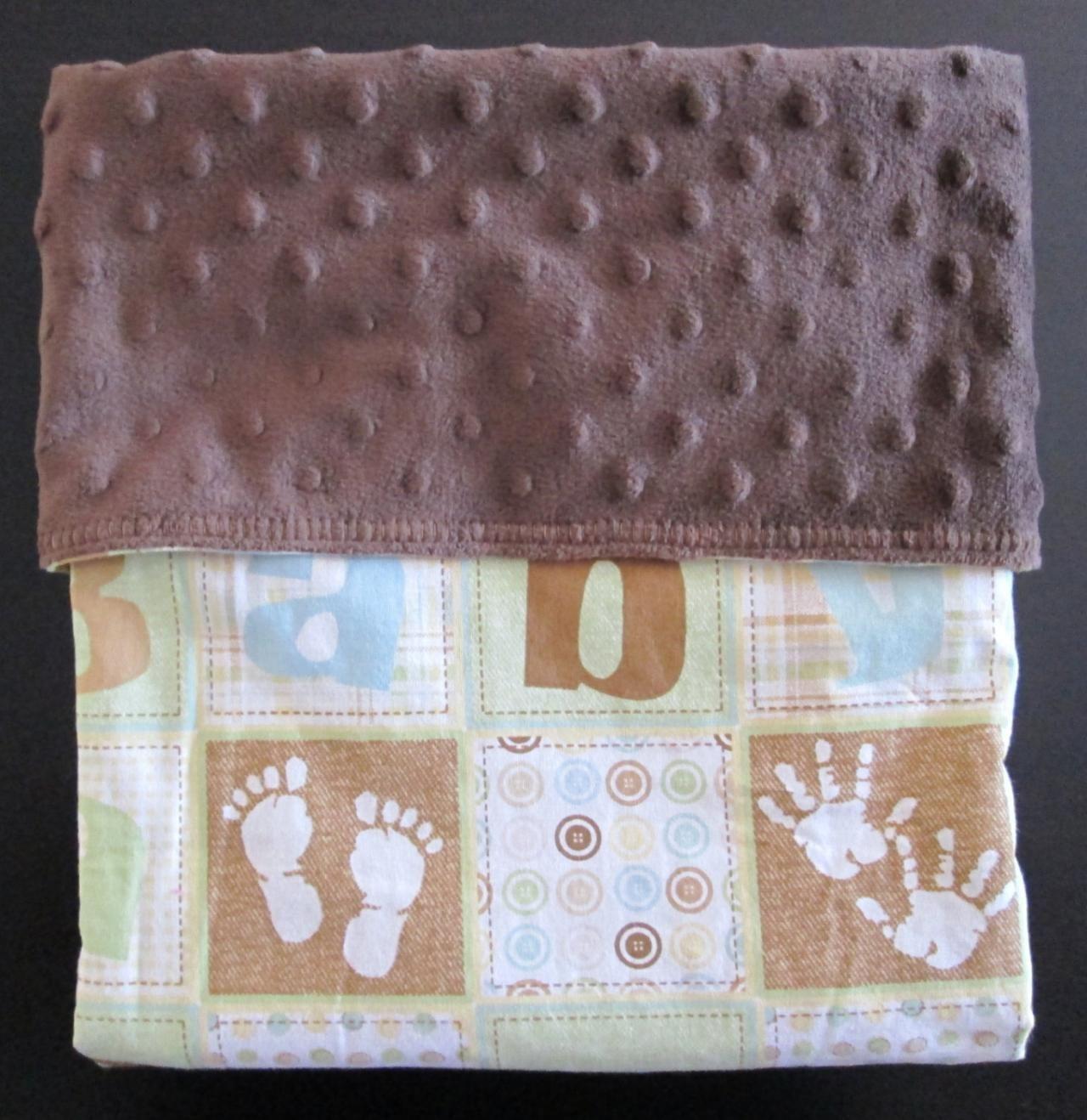 So Cute Baby Prints Blanket.