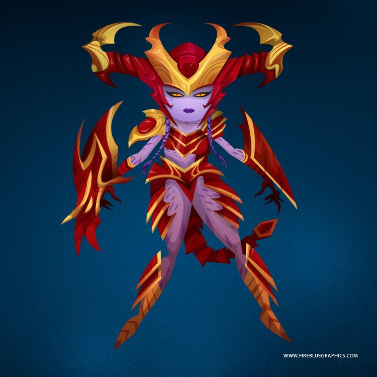 Shyvana, the Half-Dragon