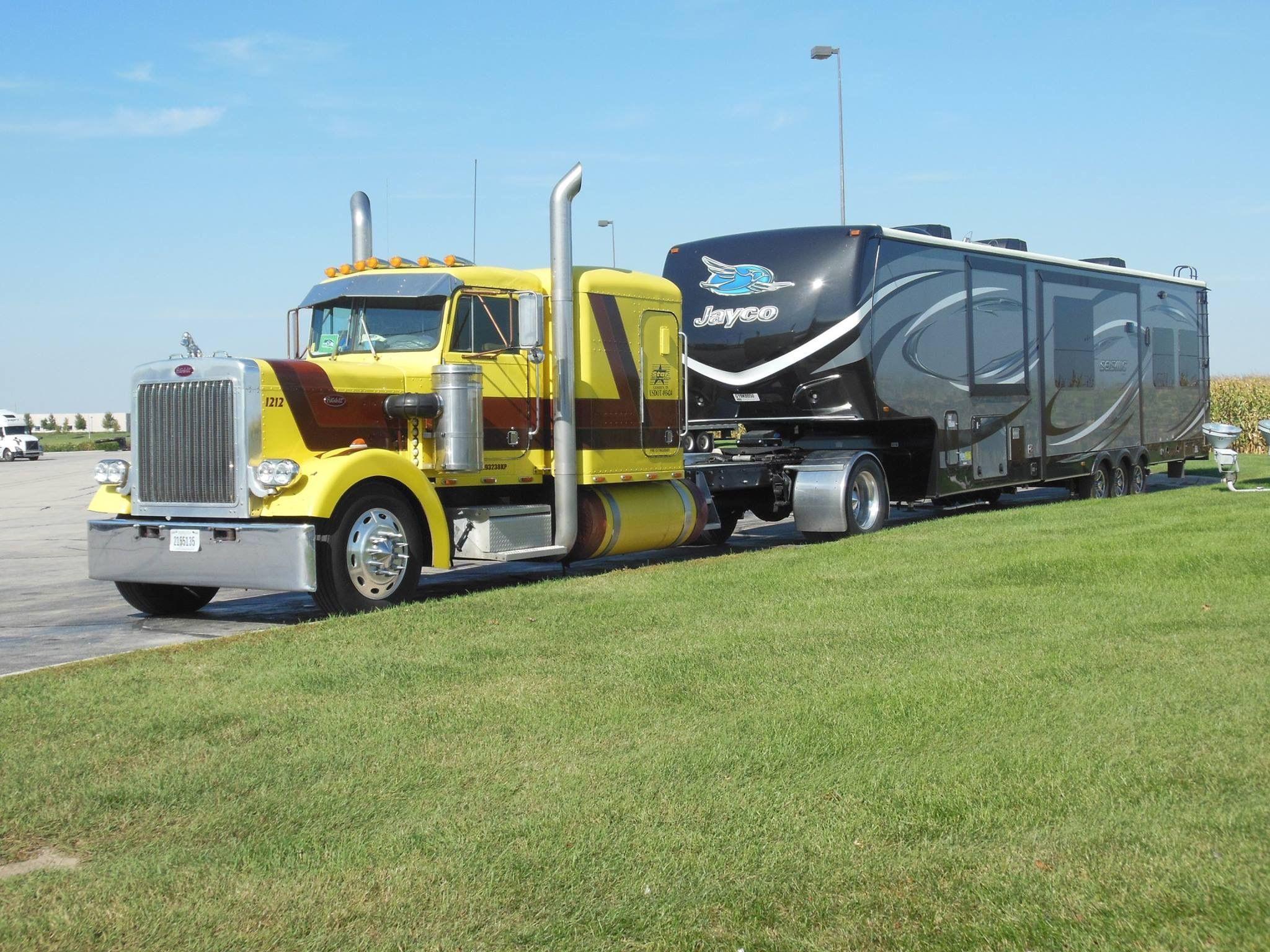 Pin by Gmarlar on Campers ideas Big trucks, Big rig