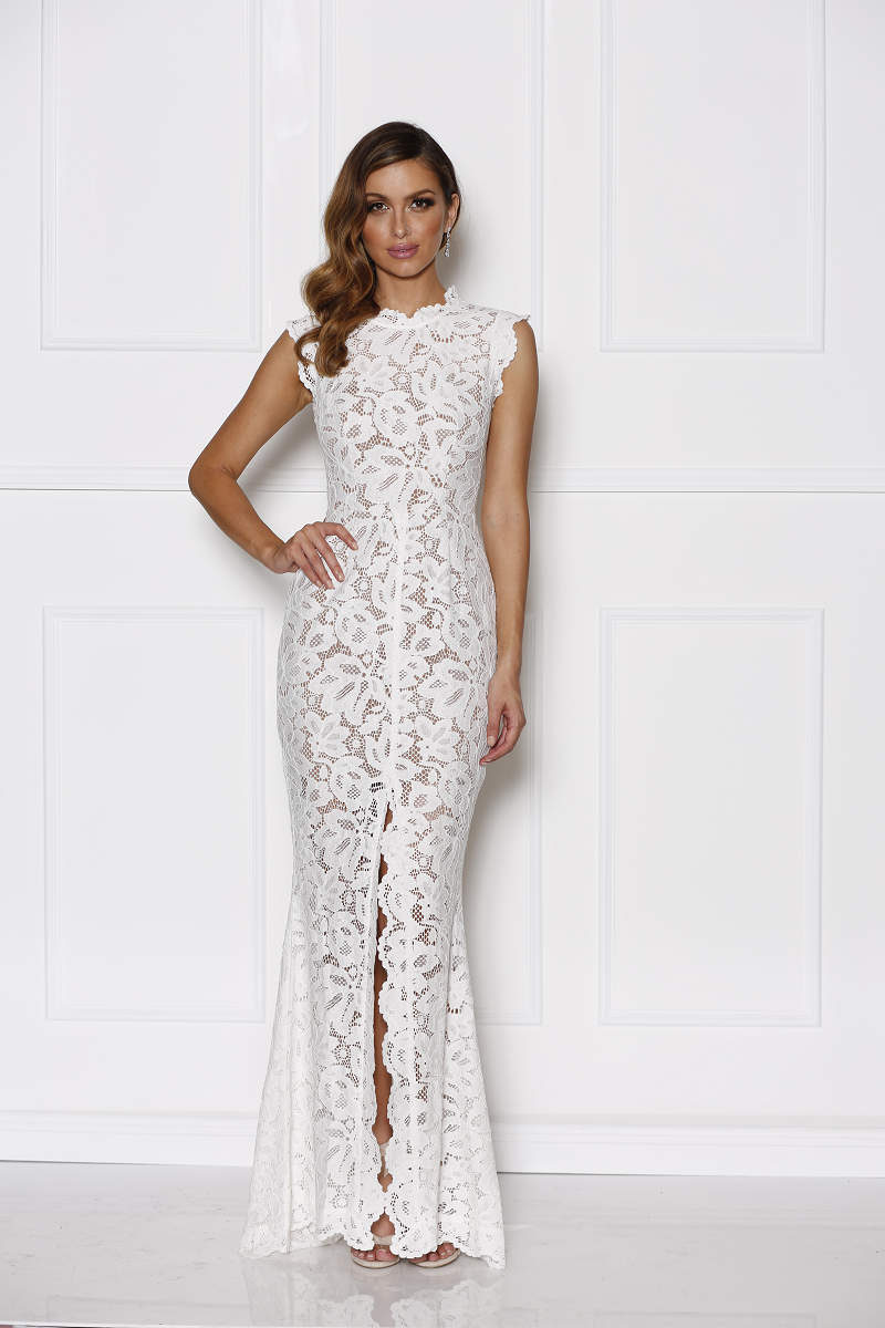 Grace & Hart - Valentine Gown White