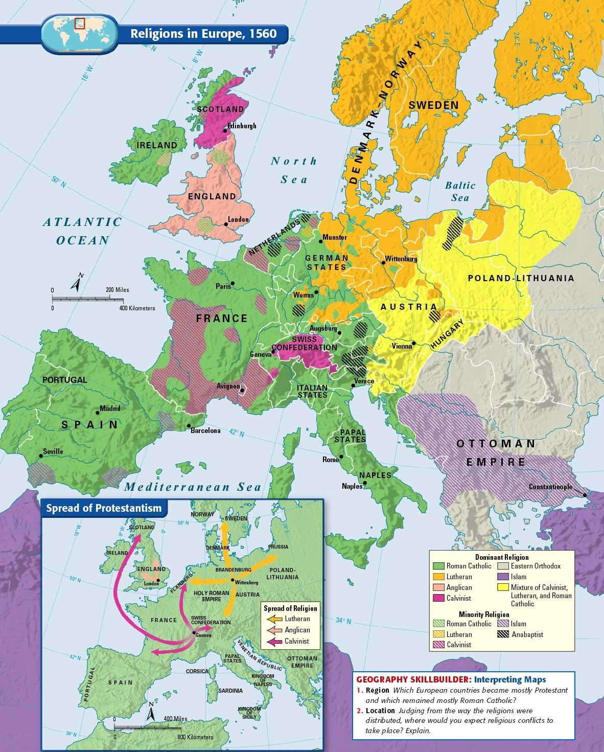 Chapter 15 World Maps Historical Maps Map European History