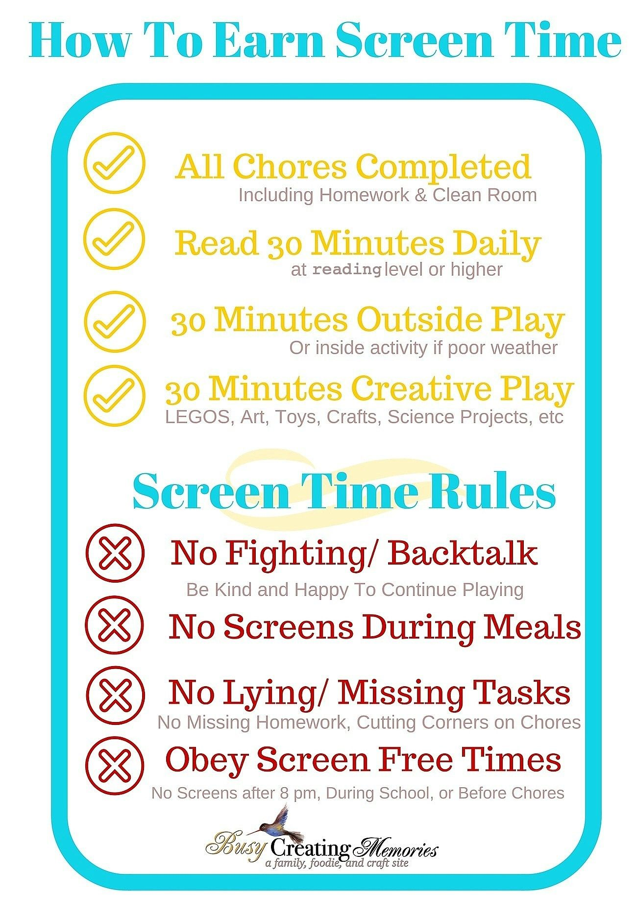 picture regarding Screen Time Rules Printable referred to as Buy a Absolutely free No Exhibit Season Until finally Suggestions Printable