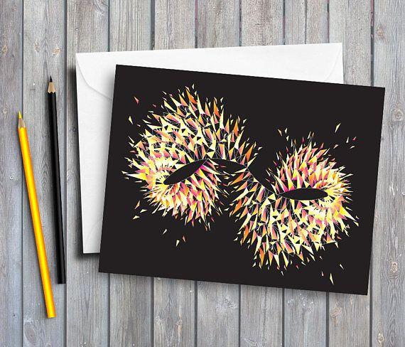 Geometric Pattern Greeting Card Geometric Art Card Generic By