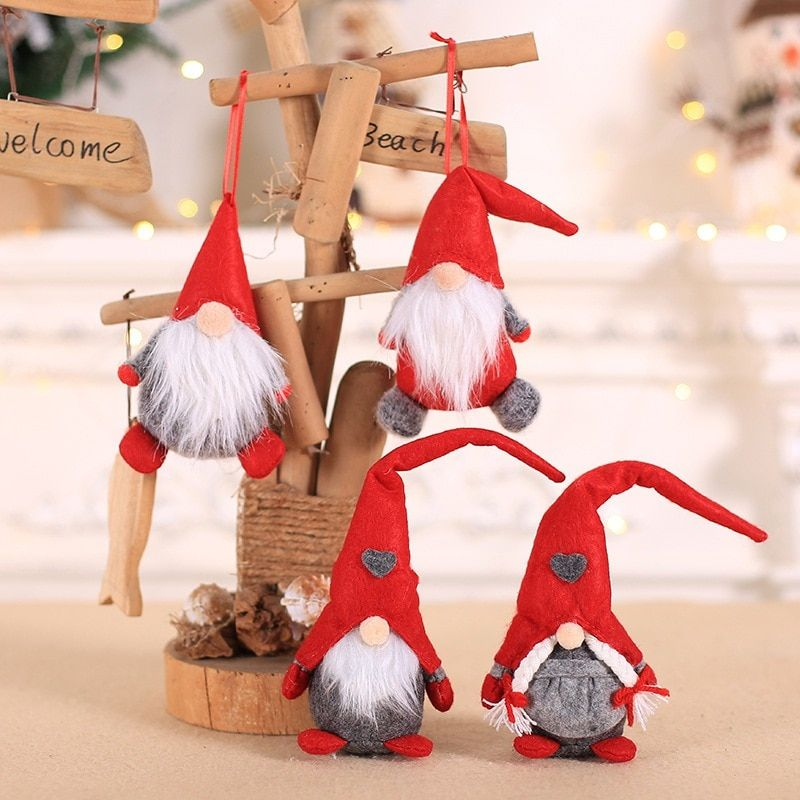 Santa Clause Home Hanging Ornaments Tree decoration Merry christmas doll
