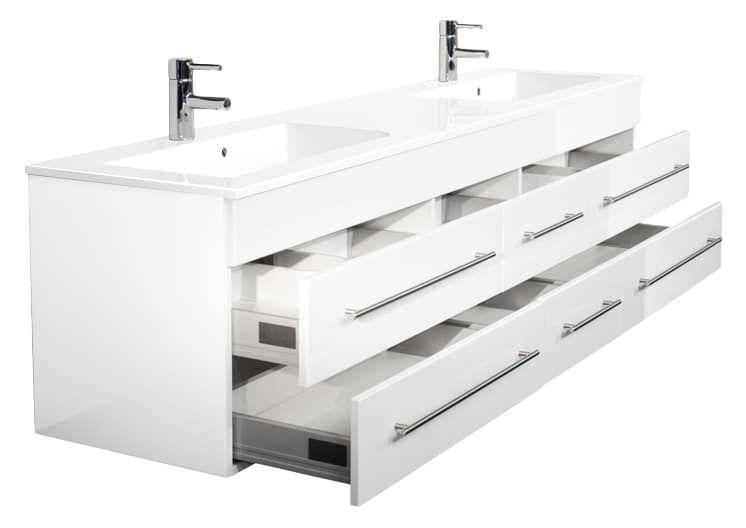 Colossos Nbsp Mit 6 Softclose Schubladen Inkl 1 Endmontierter Waschbeckenunterschrank Und Waschbecken Emotion Waschbecken Neues Badezimmer Unterschrank