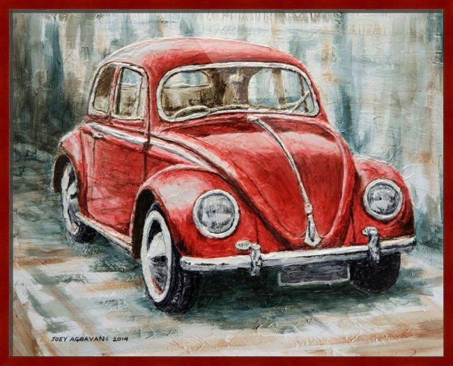 Volkswagen Beetle By Joey Agbayani Vw Art Car Painting Beetle Art