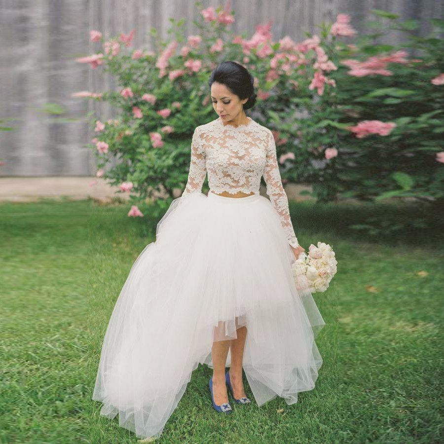 Find More Skirts Information About 2016 Rustic Tulle High Low