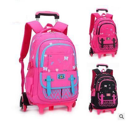 Visit to Buy] kids Rolling Backpack for School Kids Trolley School ...