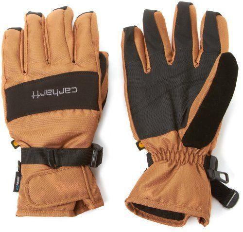 Carhartt Men S W B Waterproof Windproof Insulated Work Glove Brown Black X Large Carhartt Http Www Amazon Com Dp B005i3 Carhartt Mens Work Gloves Carhartt