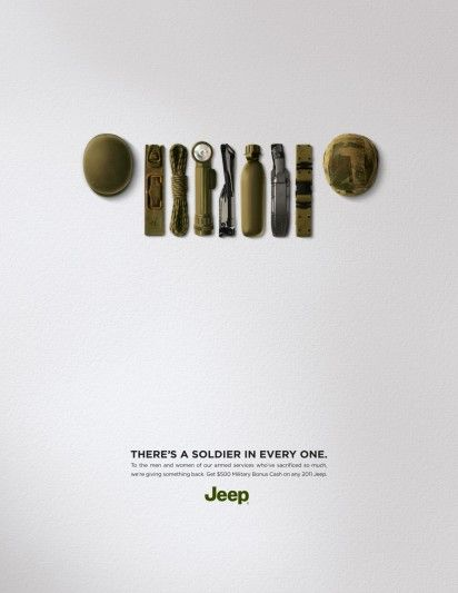 #ADV A soldier in every one. #Jeep.