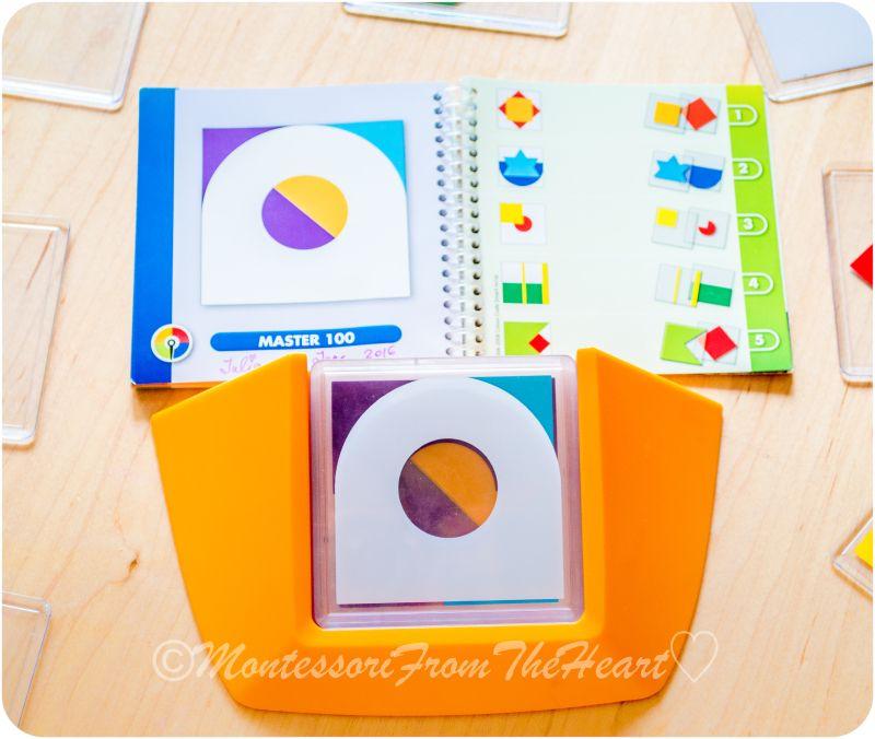 Color Code Logic Puzzle Game Sensorial 101 Series Logic Puzzle Games Coding Color Coding