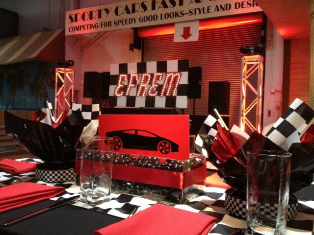 Racing Amp Nascar Theme Bar Mitzvah Racing Sports Car