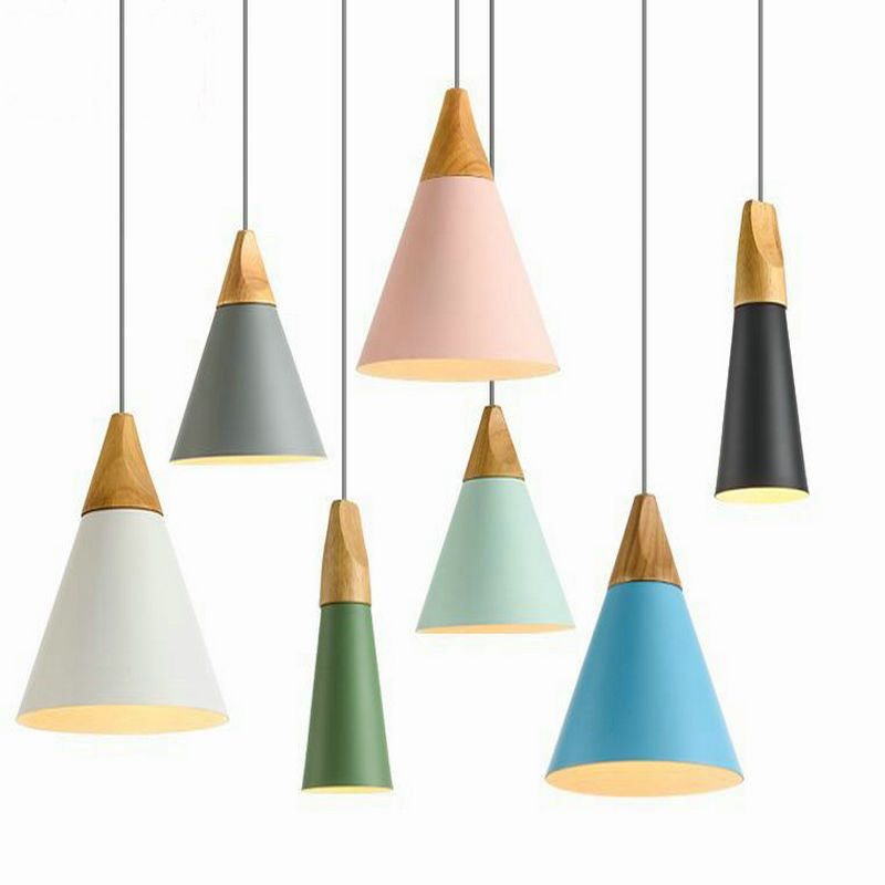 Pin by lorraine mecca on store remodel pinterest industrial cheap drop light fixtures buy quality light fixtures directly from china aluminium lampshade suppliers nordic pendant light wood aluminum lampshade mozeypictures Images