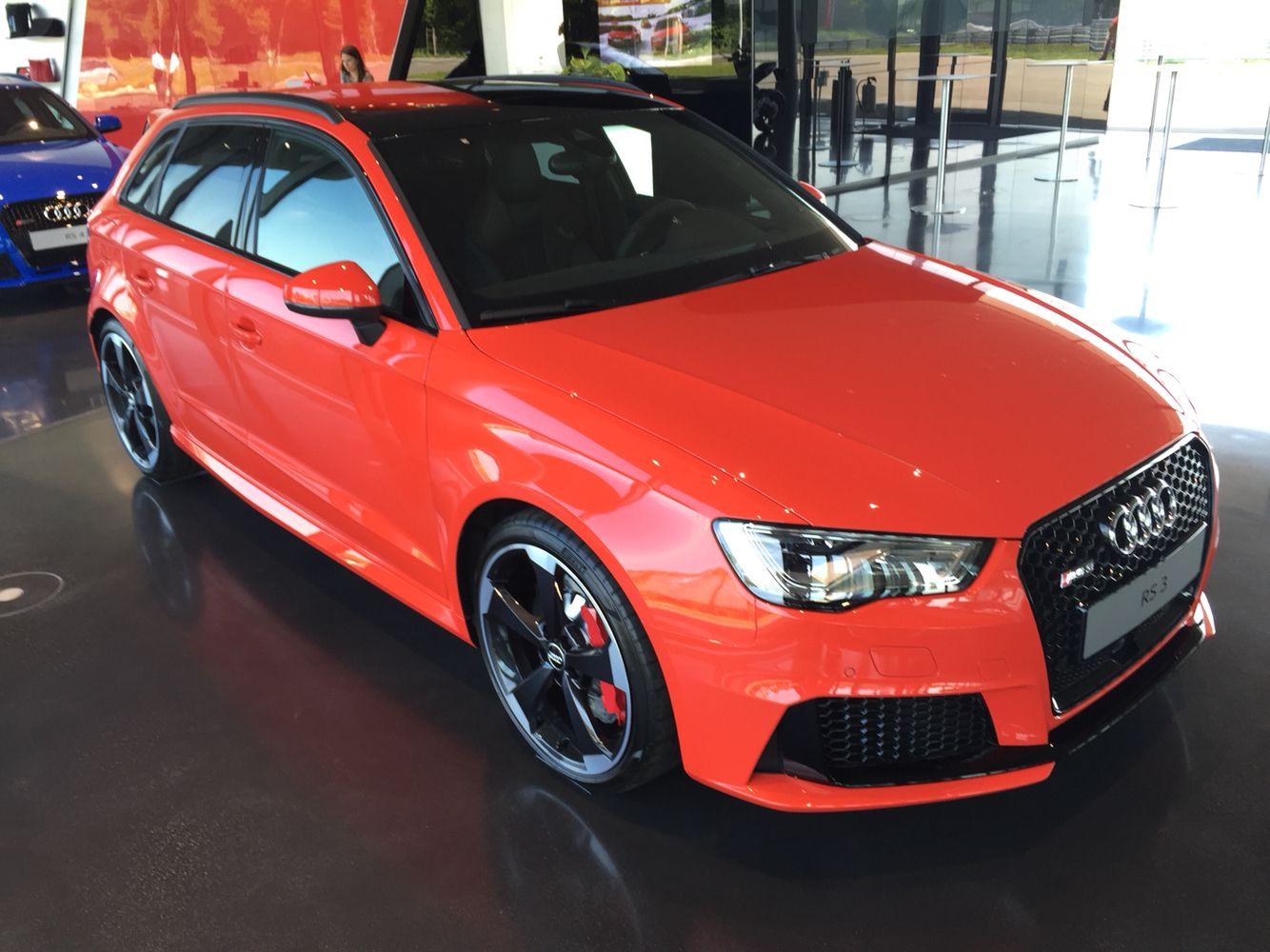 Audi Rs3 Neustadt Orange Red Audi Custom Cars