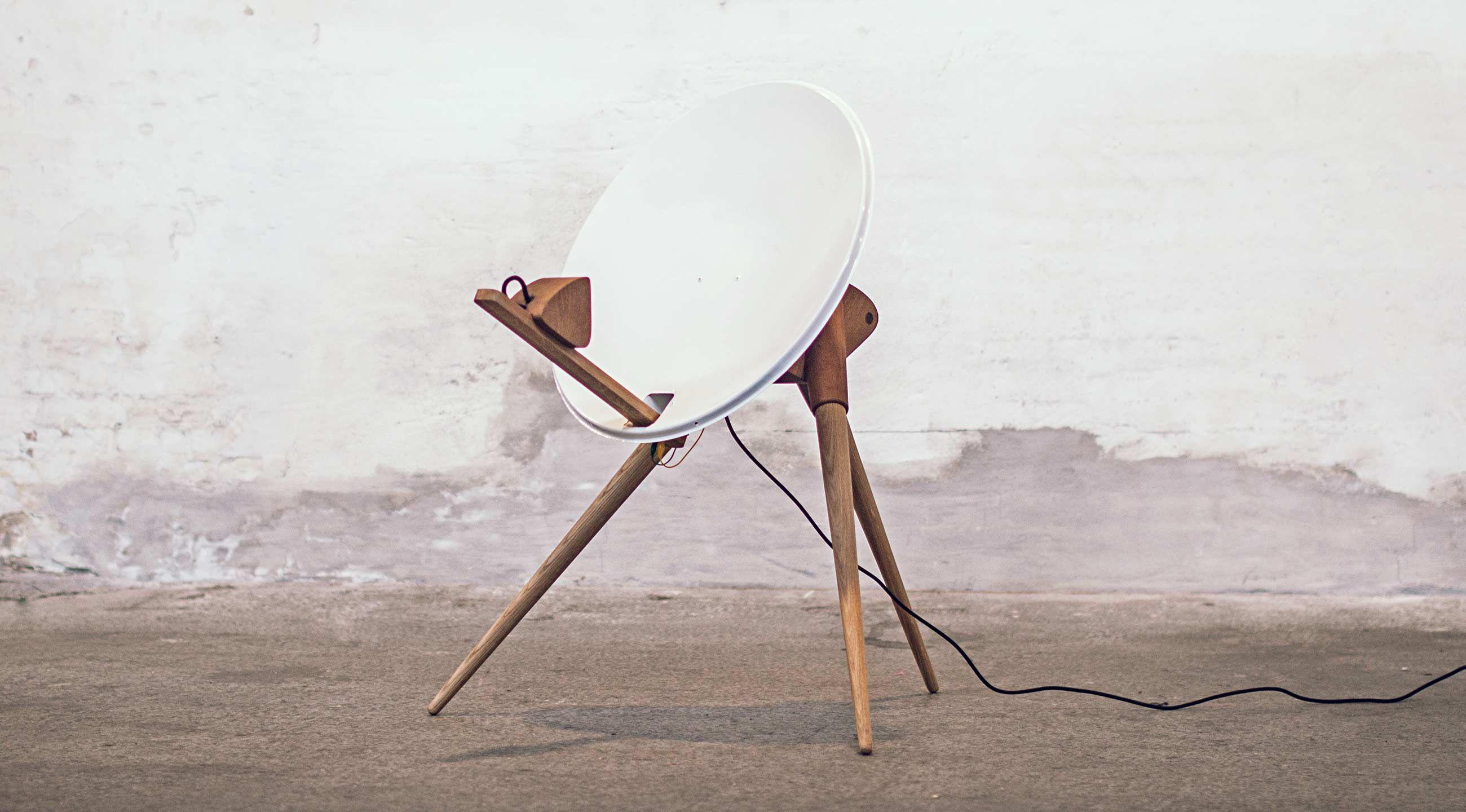 Reflektor - Brugt parabol. Indirekte lys