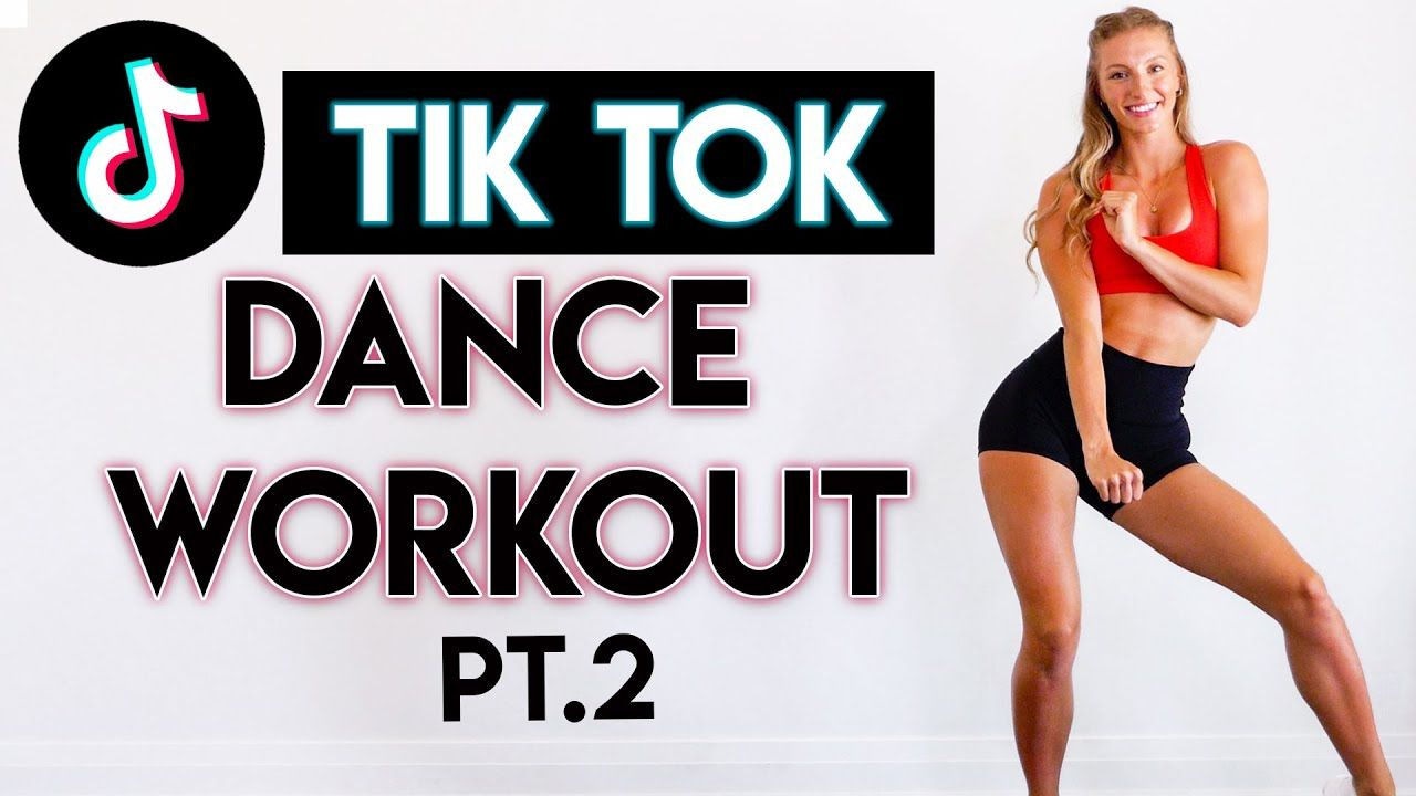 15 Min Tiktok Dance Party Workout Pt 2 Full Body No Equipment Youtube Cardio Workout Video Workout Videos Workout
