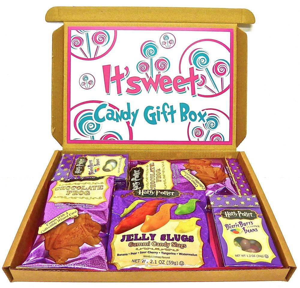 HARRY POTTER BERTIE BOTTS BEANS, CHOCOLATE FROGS, JELLY