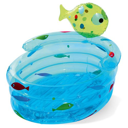Baignoire Poissons Gonflable Oxybul Achats Bb