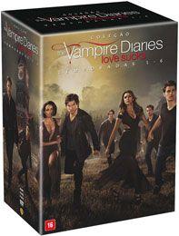 Americanas DVD - Coleção The Vampire Diaries: Love Sucks - Temporadas 1-6 (30 Discos) - R$ 224,91 parcelado