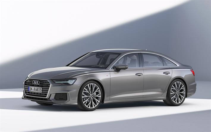 Herunterladen Hintergrundbild Audi A6 2019 50 Tdi Quattro S Line