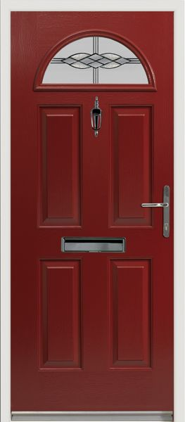 Our popular Eiger style #composite #door with u0027Graphiteu0027 glass design.  sc 1 st  Pinterest & Our popular Eiger style #composite #door with u0027Graphiteu0027 glass ...