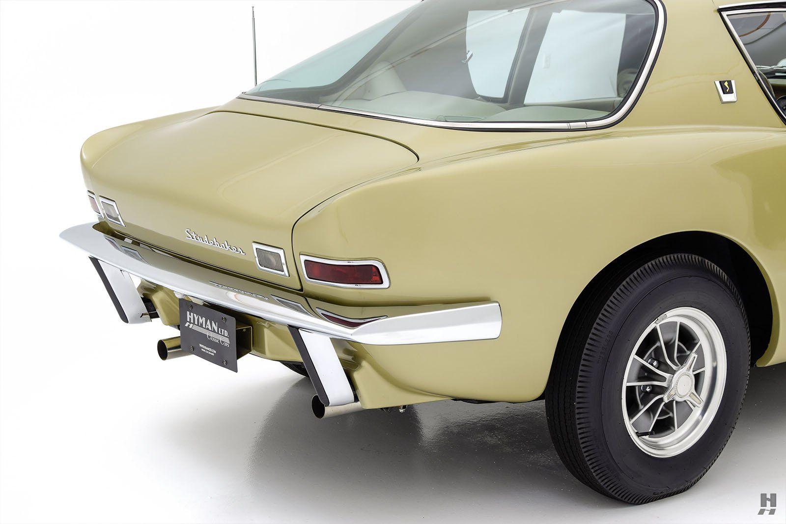 1963 Studebaker Avanti R2 Hyman Ltd Classic Cars Studebaker Car Features Gt Cars