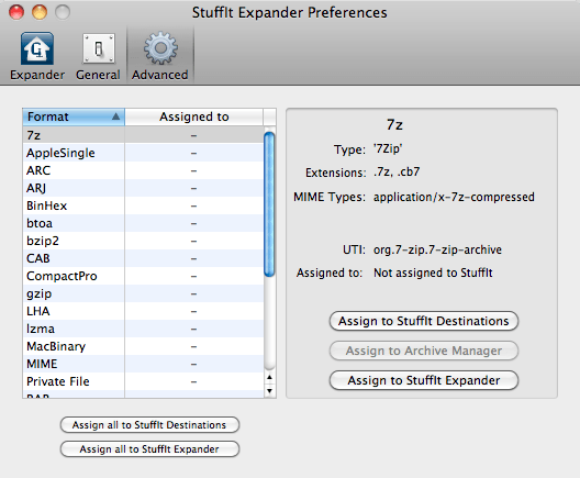 StuffIt Expander for Mac screen shot | downloada2z | Mac, Free