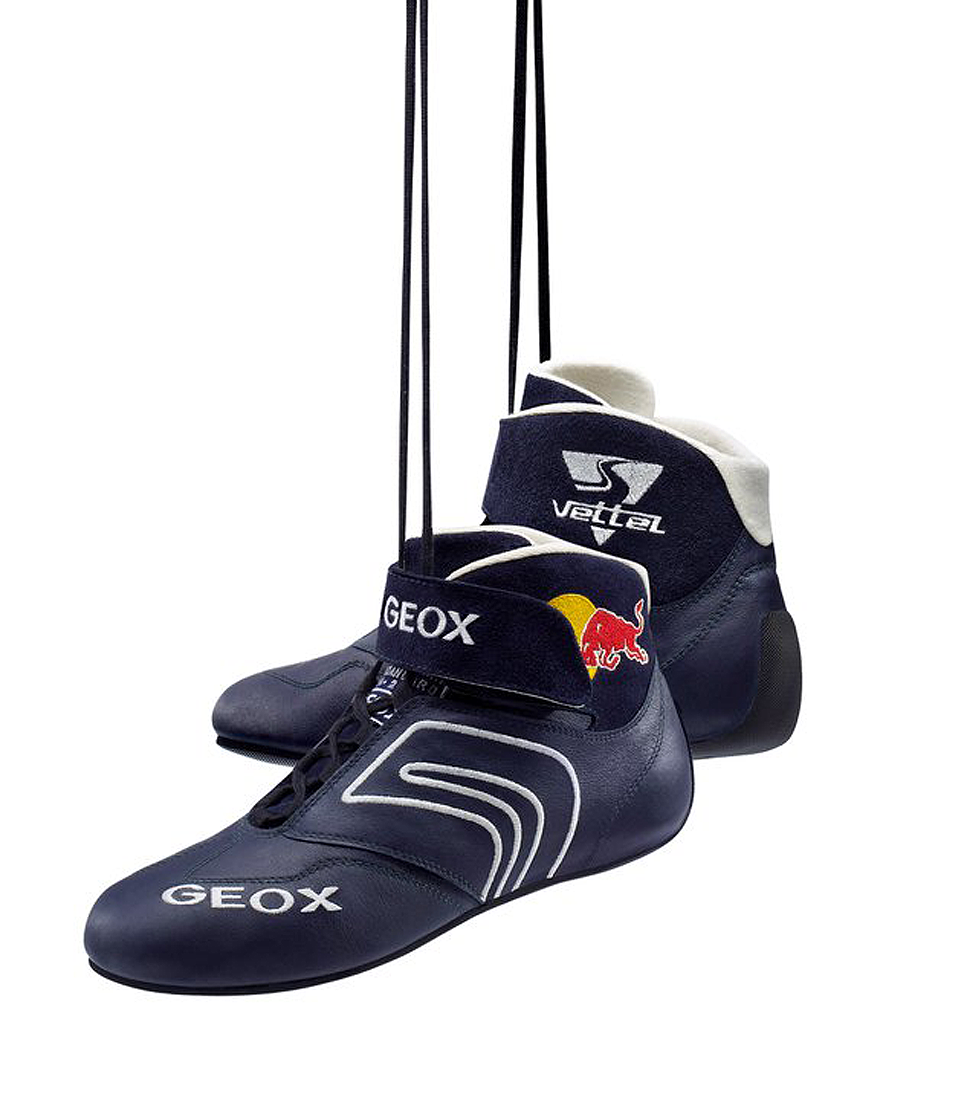 geox f1 race driver shoe. red bull. 2011. | Driver shoes ...