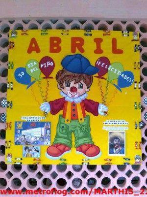 Ideas para el peri dico mural del mes de abril 8 for Amenidades para periodico mural