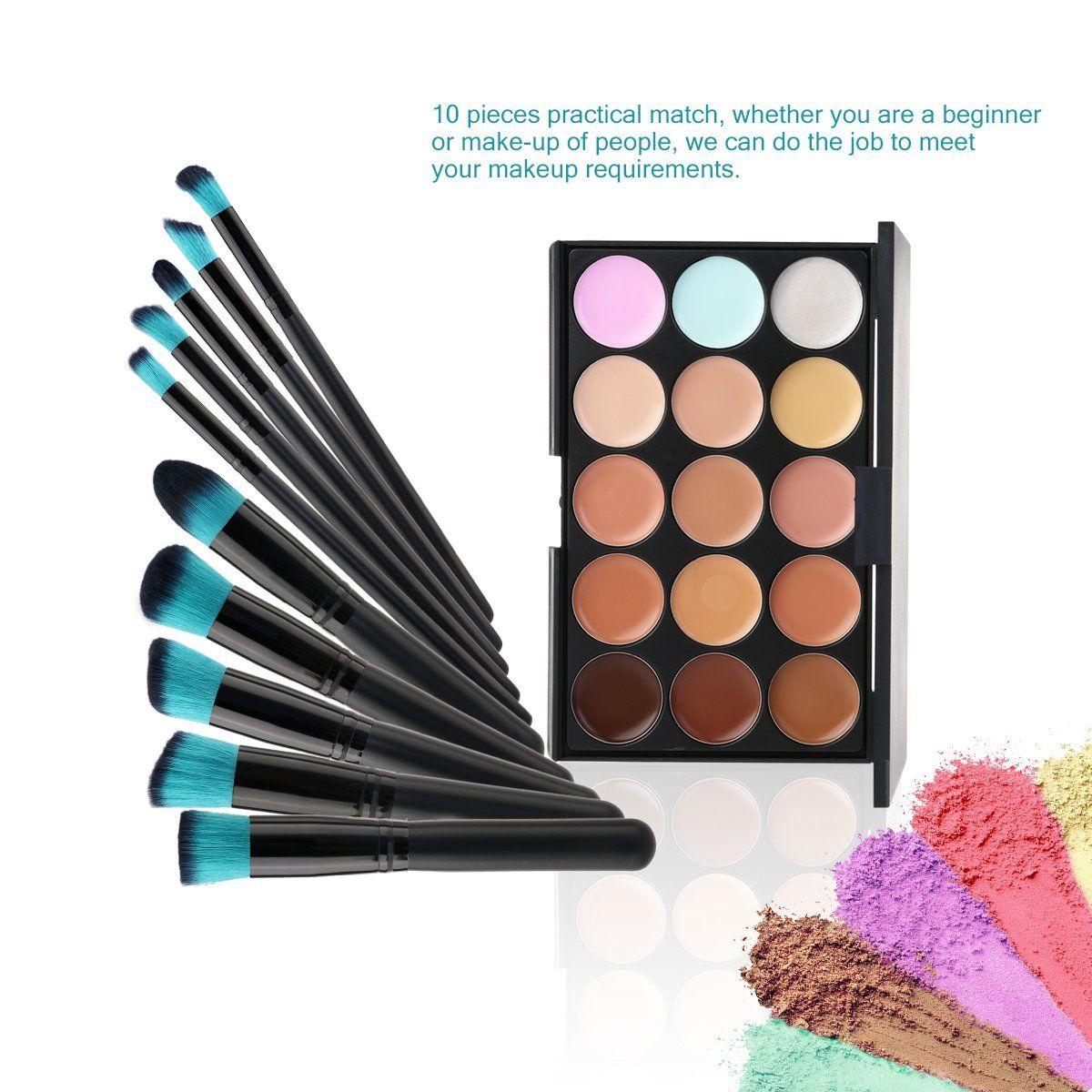 Tinksky Cream Contour Kit 15 Colors Cosmetics Cream