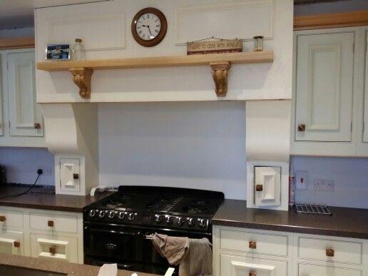 Over mantle | Classical kitchen, Bespoke kitchens, Kitchen