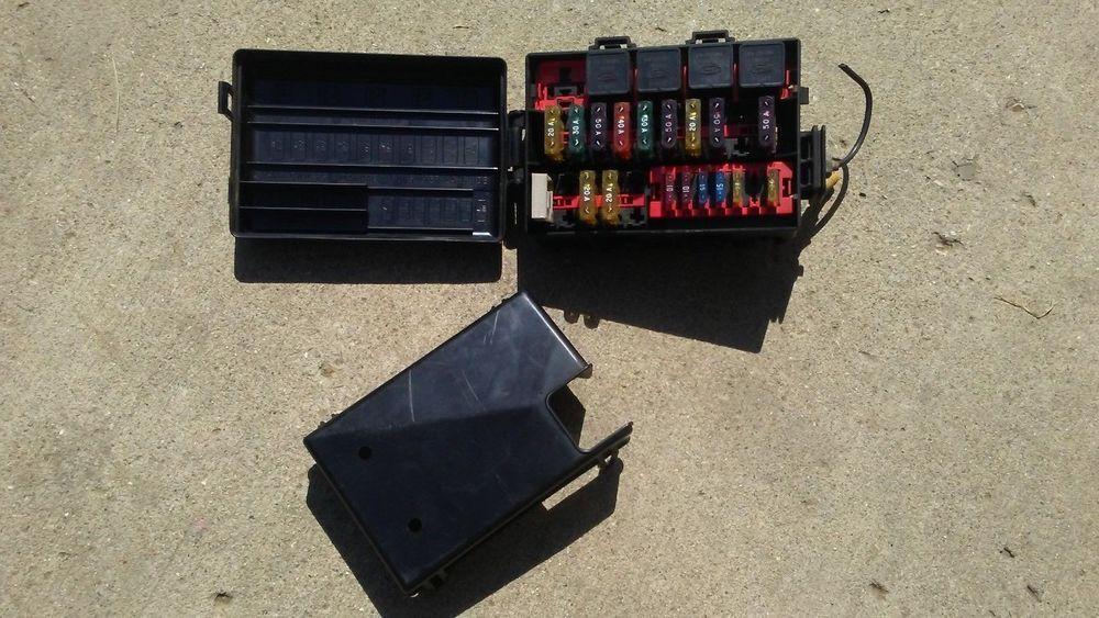 92-96 ford f350 f-350 bronco fuse box loom wires service panel fusebox 7 5l  7 5 #f150 #f250 #f350 #f0150 #f-250 #f-350 #usedautoparts #autoparts