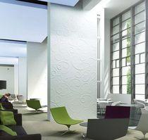 Decorative 3D reinforced gypsum wall panel