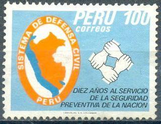 SELLOS de PERU - 1983