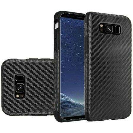 Insten Carbon Fiber TPU Gel Case Cover For Samsung Galaxy Note 8, Black - Walmart.com